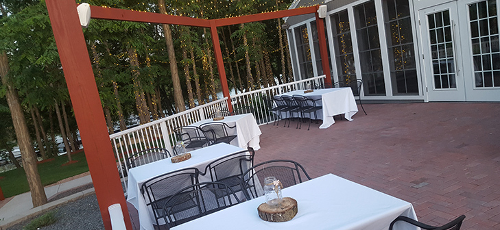 Celebrations on the River Outdoor Patio in La Crosse, WI