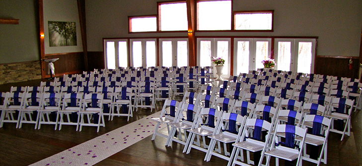 Winter Wedding at Celebrations on the River La Crosse, WI